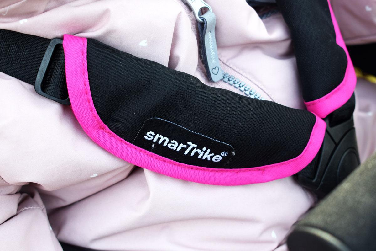 Smartfold Smartrike 500 - Buggy und Dreirad - Produkttest - Mamablog München - 3-Punkt-Gurt